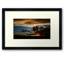Outback canvas Framed Print
