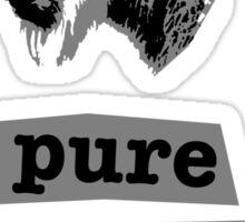 Pure goat Sticker