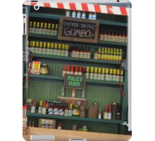 Cajun Cafe Condiments iPad Case/Skin