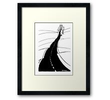 Knitting Framed Print
