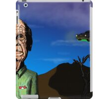 Did you tell the old man iPad Case/Skin