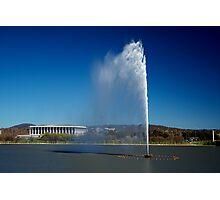 Captain Cook Memorial Fountain Photographic Print