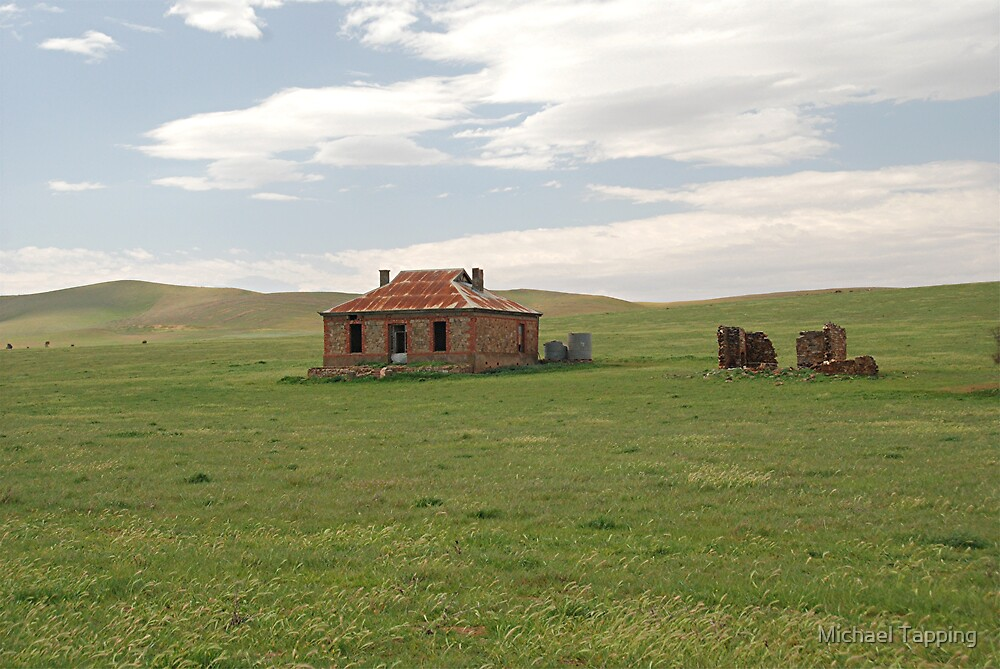 Old Homestead -  Nr. Burra, South Australia by Michael Tapping
