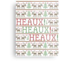 HEAUX! HEAUX! HEAUX! - Ugly Xmas Sweater Design Metal Print