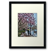 First Spring Rain Framed Print