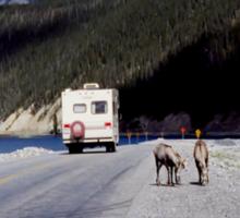Alaska Canadian Highway Sticker