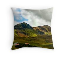 The Rolling Hills Throw Pillow