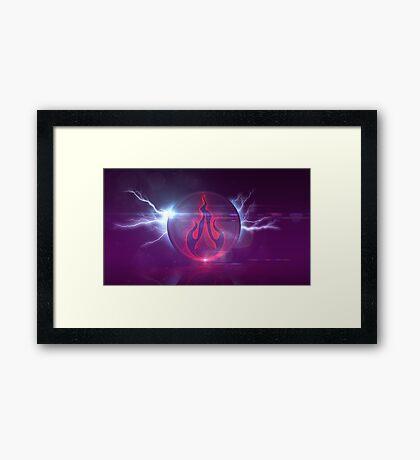 Ajijaak Studio Dark Side V2 Framed Print