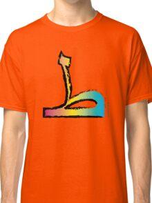 Brush Stroke-Arabic Letter ṭā' ◆ ط Classic T-Shirt