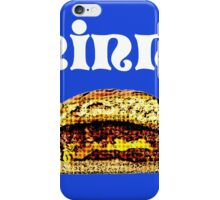 The Juicy Lucy iPhone Case/Skin