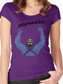 All Hail Skeletor Women's Fitted Scoop T-Shirt
