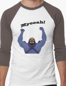 All Hail Skeletor Men's Baseball ¾ T-Shirt
