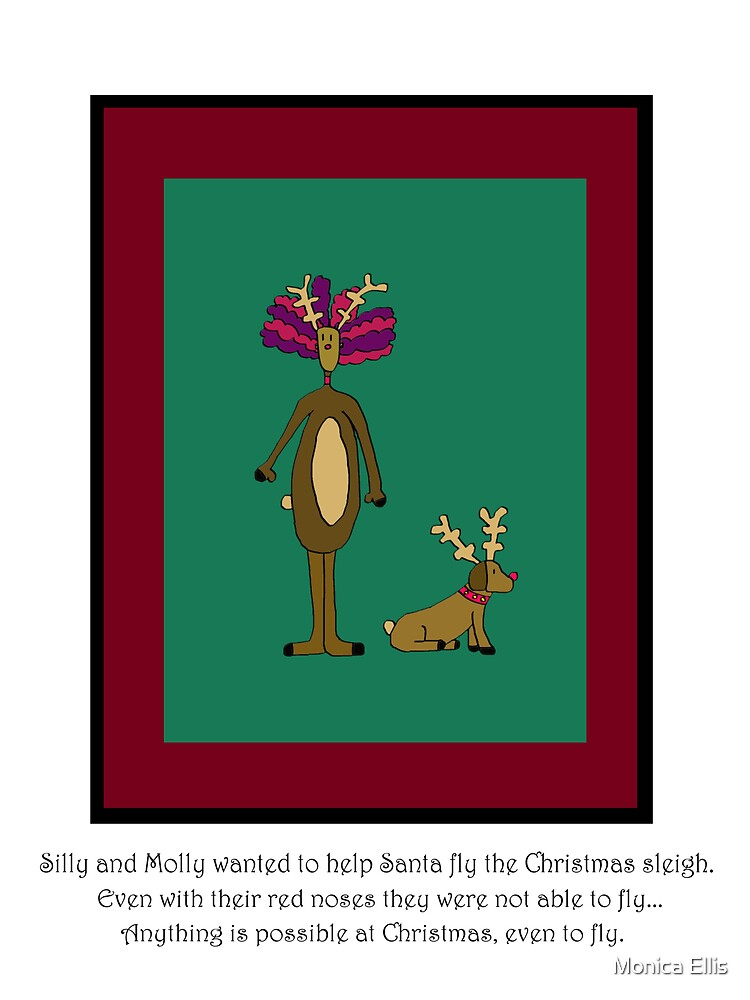 Silly and Molly Help Christmas by Monica Ellis