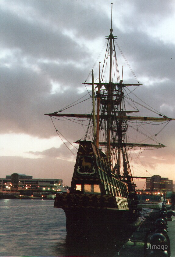 Golden Hind by JImage
