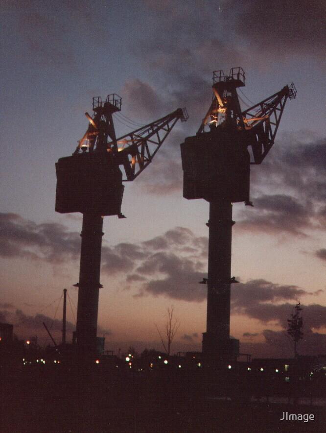Cranes by JImage