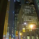 Toronto at night by MarianBendeth