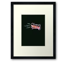 Neon Plasmids sign Framed Print