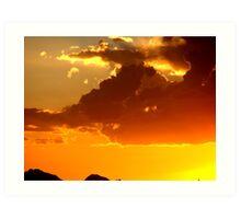 Tranquil Sunset Art Print