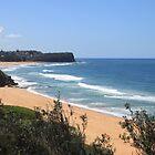 Warriewood Beach, Sydney by Jane Wilkinson-Franssen
