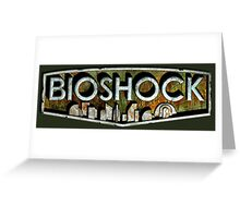 Bioshock logo Greeting Card