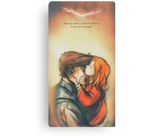 I'll Soon Be a Story in Your Head - Doctor Who Canvas Print