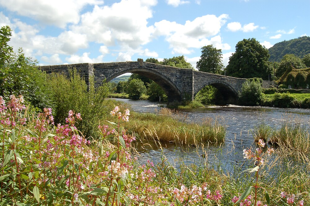 Llanrwst Bridge 2 by JImage