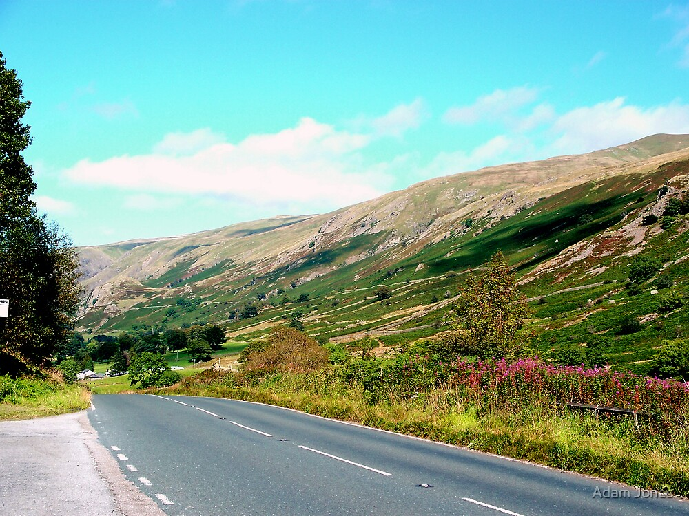 Road To Thirlmere by Adam Jones