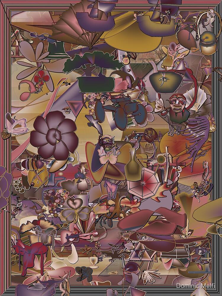 WALL ART RANDOM OBJECTS I by Dominic Melfi