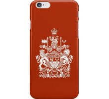 CANADA-COAT OF ARMS iPhone Case/Skin
