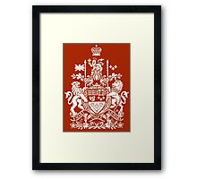 CANADA-COAT OF ARMS Framed Print