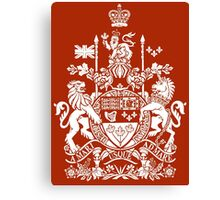 CANADA-COAT OF ARMS Canvas Print