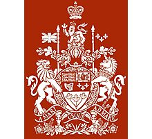 CANADA-COAT OF ARMS Photographic Print