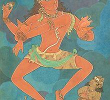 Shiva Nataraja, the king of dance by Swagavad-Gita