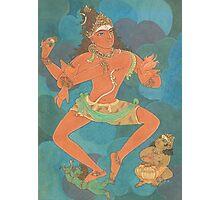Shiva Nataraja, the king of dance Photographic Print