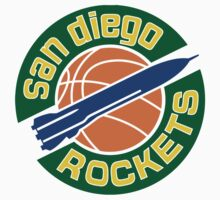 San Diego Rockets by nfydesigns