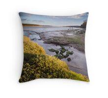 Orwell Estuary Throw Pillow