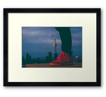 Red October Framed Print