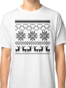 Winter time white Classic T-Shirt