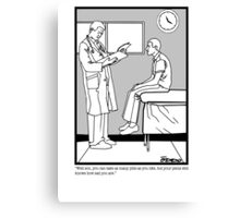 Dr. Office Canvas Print