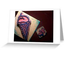 Icecream Stamp Greeting Card