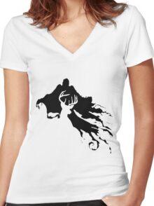 Patronus Charm Women's Fitted V-Neck T-Shirt