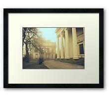 St Brides garden, Liverpool 2014 Framed Print