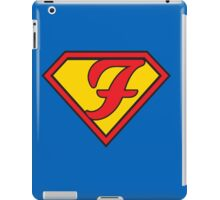 Super F iPad Case/Skin