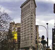 Flat Iron Building by Peter Horsman