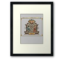 Clock in Now Framed Print