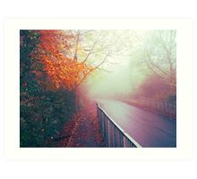 Misty Days Art Print