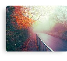 Misty Days Canvas Print