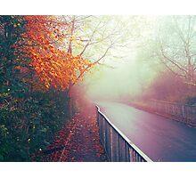Misty Days Photographic Print