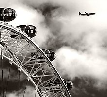 London eye by Dominic Parkes