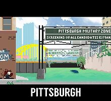 The Last Of Us Demastered - Pittsburgh by Christian Geldart